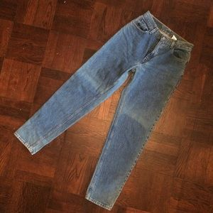 Vintage 550s High Waisted Tapered Levi's